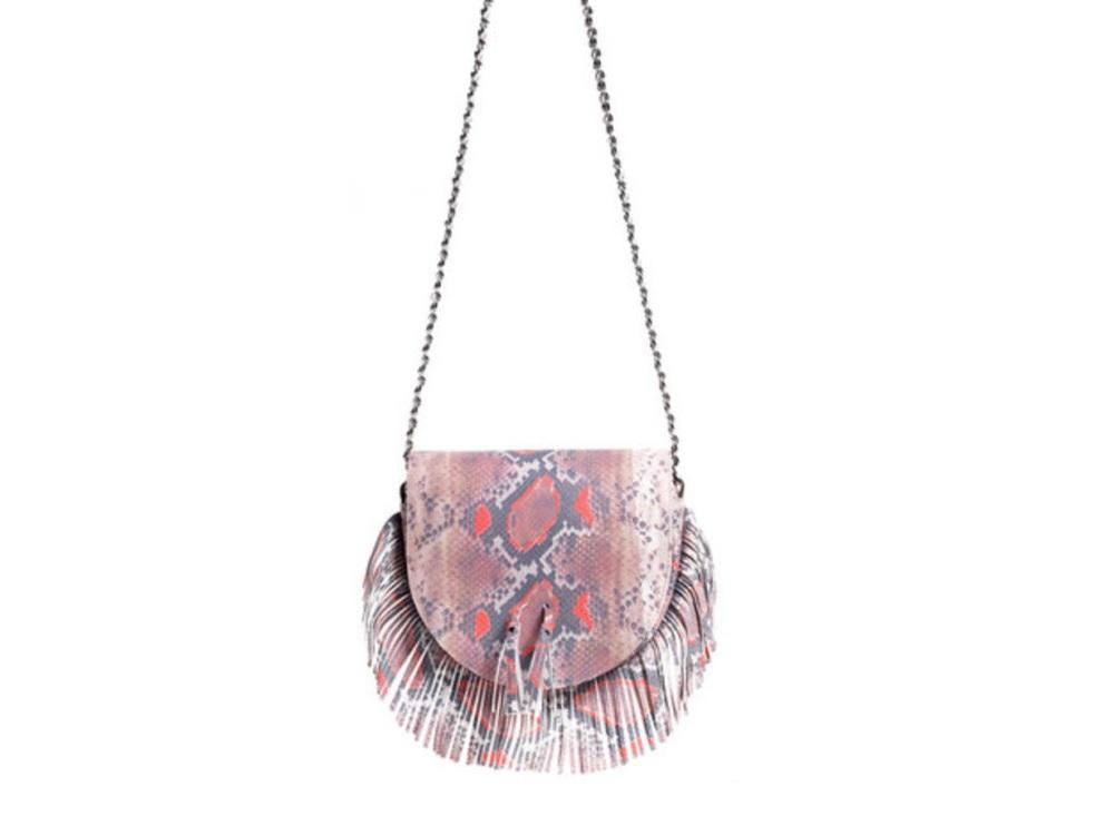 Tallulah bag in Snake Coral