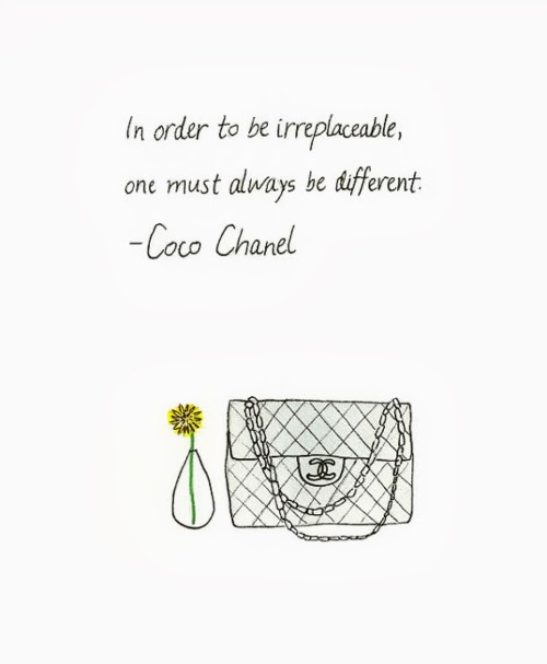 Coco Chanel Quote girl loves style.JPG
