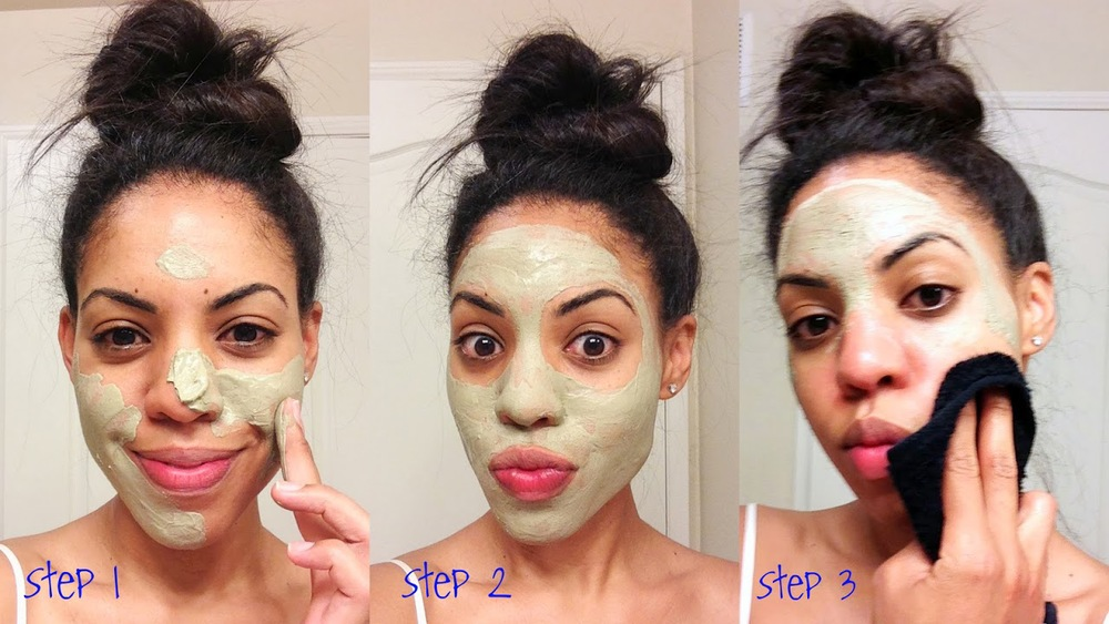 DIY facial, facial at home with spa results, at home clay mask, diy mask just like the spa, best spa clay mask, apple cider vinegar on face