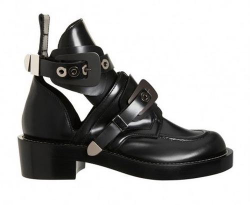 Balenciaga - Buckle Strap Ankle Boot $1275
