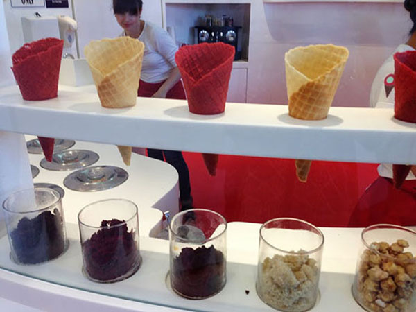 sprinkles ice cream los angeles, sprinkles ice cream and cupcake pictures, sprinkles pistachio ice cream, ice cream topped with a cupcake, ice cream garnish ideas, red velvet waffle cones