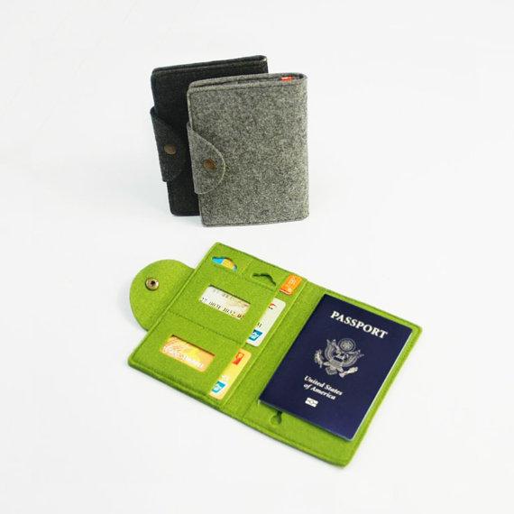 stylish passport holders, passport holders with initials, personalized passport holders, unique passport holders, passport holders for women, fashion passport holder, tweed passport holder