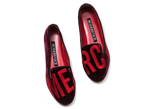 Modern vice loafers, red velvet loafers womens, kanye west loafers, mercy velvet loafers, stylish fashion loafers for women, initial loafers