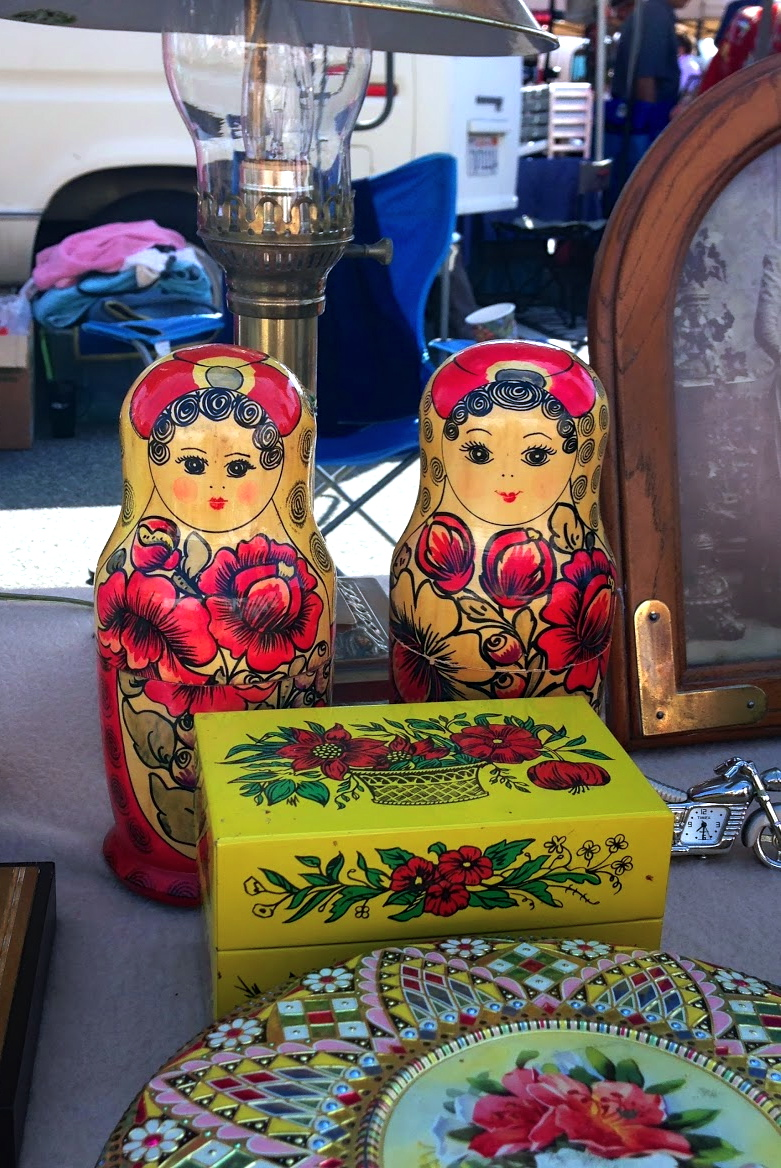 Reminds me of my Mom :) (she has real ones from Russia at the house!)