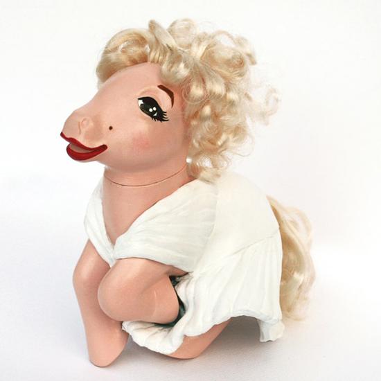 Marilyn Monroe My Little Pony, My Little Marilyn Monroe, Mari Kasurinen My Little Pony Art, My Little Pony Pop Culture, Marilyn Monroe Pop Culture
