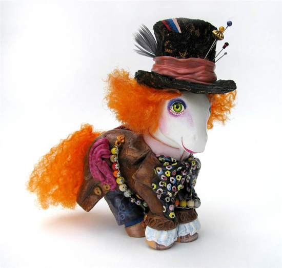 Mad Hatter My Little Pony, My Little Mad Hatter, Mari Kasurinen My Little Pony Art, My Little Pony Pop Culture, Mad Hatter Pop Culture