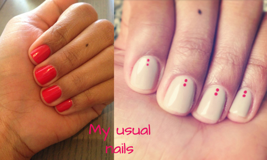 Short square nails, short manicure, short stiletto nails, nail art with dots, easy nail art, simple nail art, grey gray nail polish, short squared nails, popular nail polish colors 2014, best short nail styles