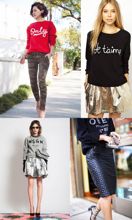 oversized statement sweatshirt sweaters, women's boyfriend sweaters sweatshirt, oversized boyfriend sweaters, fashion oversized sweaters, fashion bloggers california, statement sweaters and skirts, casual and leather outfits. sweatshirts and heels, girl loves style, sweatshirts with skirts