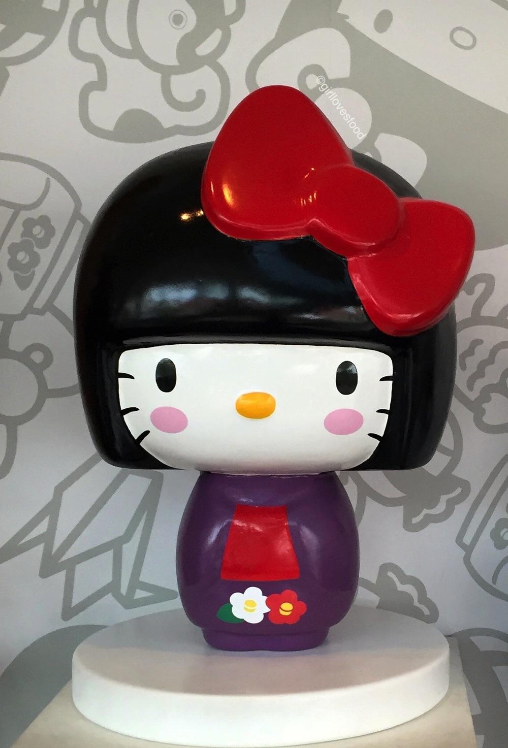 hello kitty japanese doll, hello kitty kimono, los angeles hello kitty stores,japanese american national museum exhibits, hello super cute world of hello kitty, pictures inside hello kitty museum, los angeles hello kitty museum