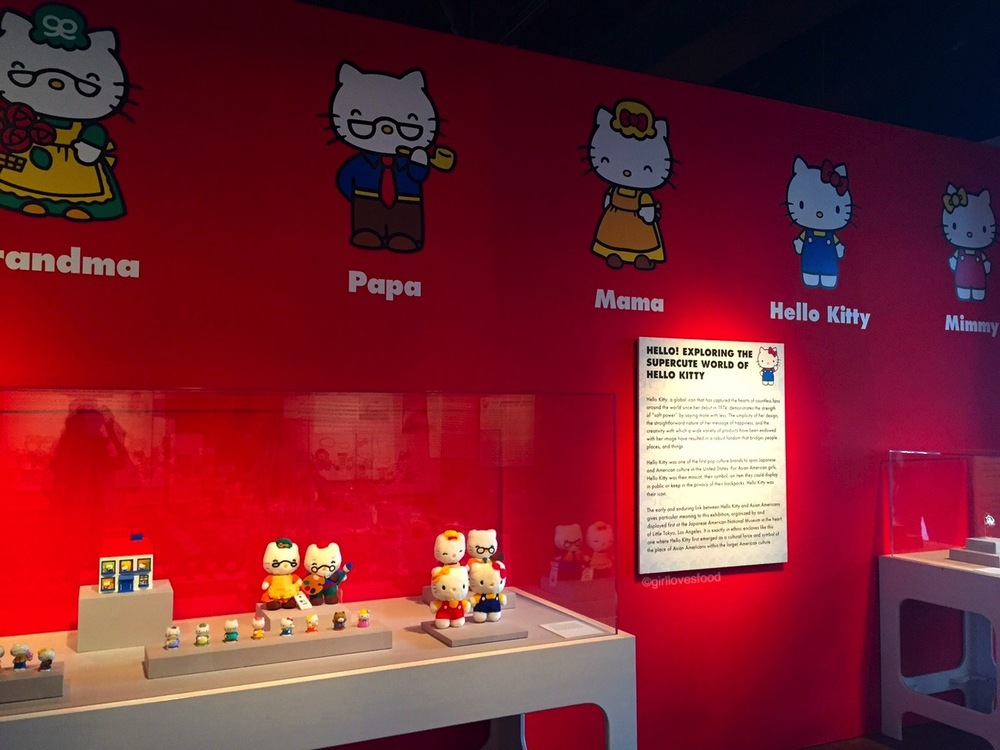 How cute is Hello Kitty's little family!