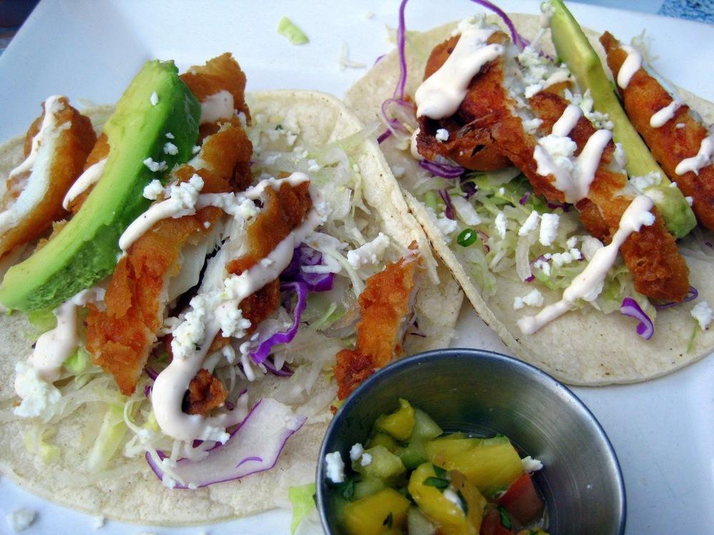best fish tacos in la, los angeles best fish tacos, baja cantina fish tacos, crispy fish tacos los angeles