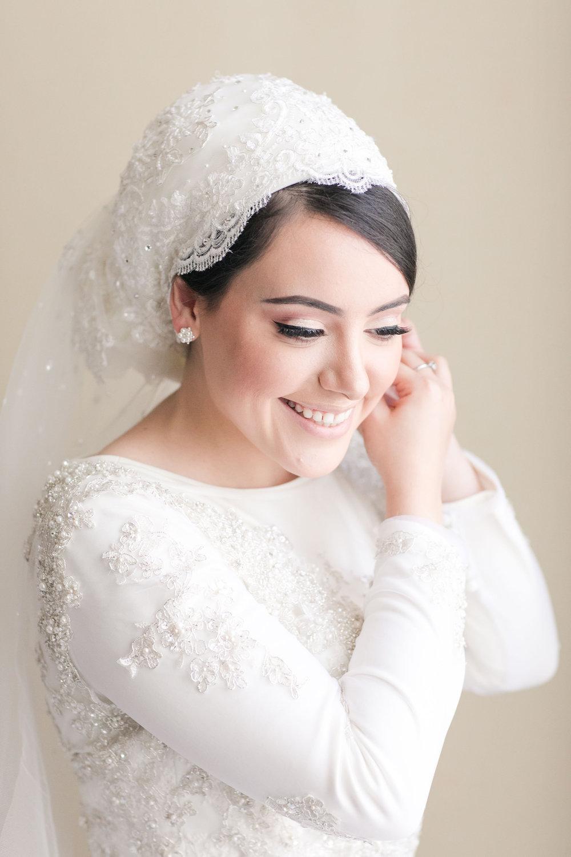 Nadaa Bridal Hijab 1