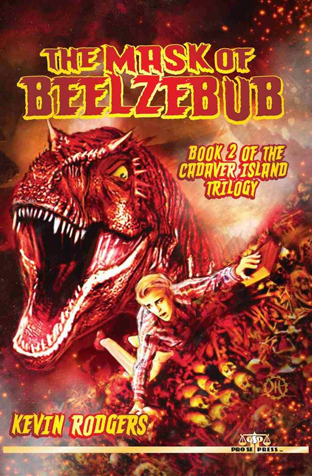 Cover art for THE MASK OF BEELZEBUB by artist Jeffrey Hayes! THE MASK OF BEELZEBUB is available on Amazon, Kindle, Barnes and Noble, Nook, and Smashwords!
