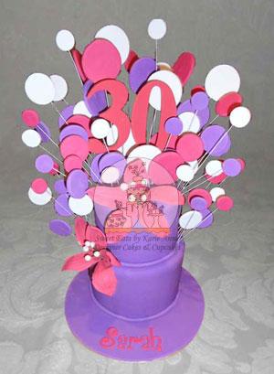 30th Fantasy Cake