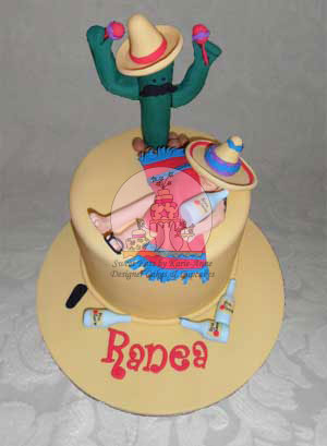 Mexican Themed Cake