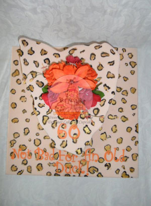Leopard Print Tasmanian Cake