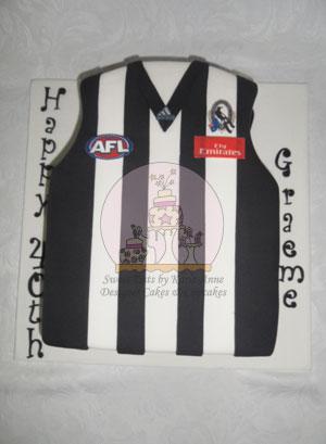 AFL Jersey Cake