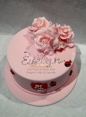 Evelyn's Garden Cake