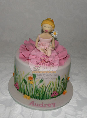 Flower Girl Cake