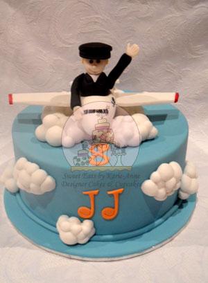 JJ's Jet Plane Cake