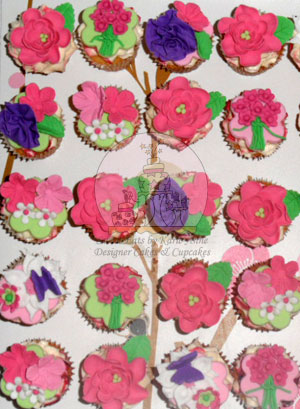 Floral Cupcakes 3