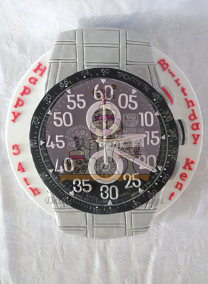 Tag Heuer Watch Cake