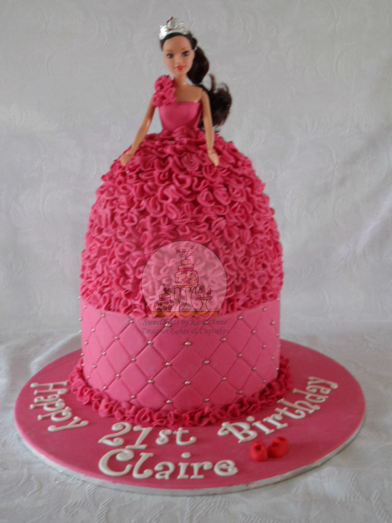 Princess Themed Dolly Varden Cake