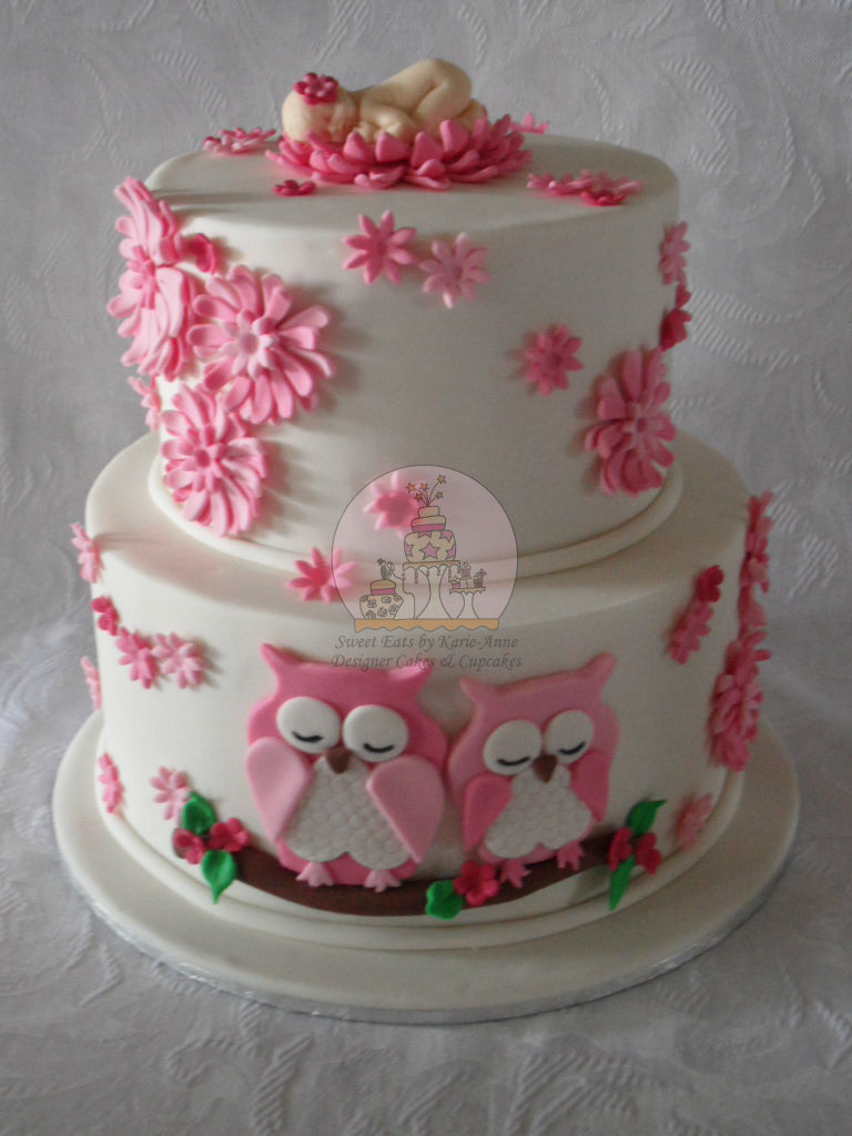 Sweet Eats Baby Shower Cakes