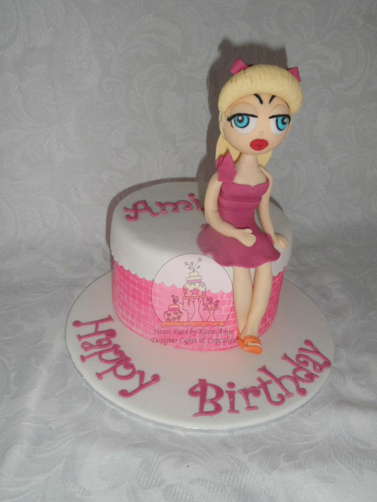 Ami's Pinup Girl Cake