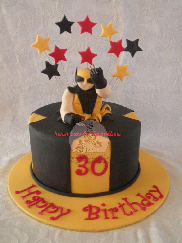 Wolverine Figurine Cake