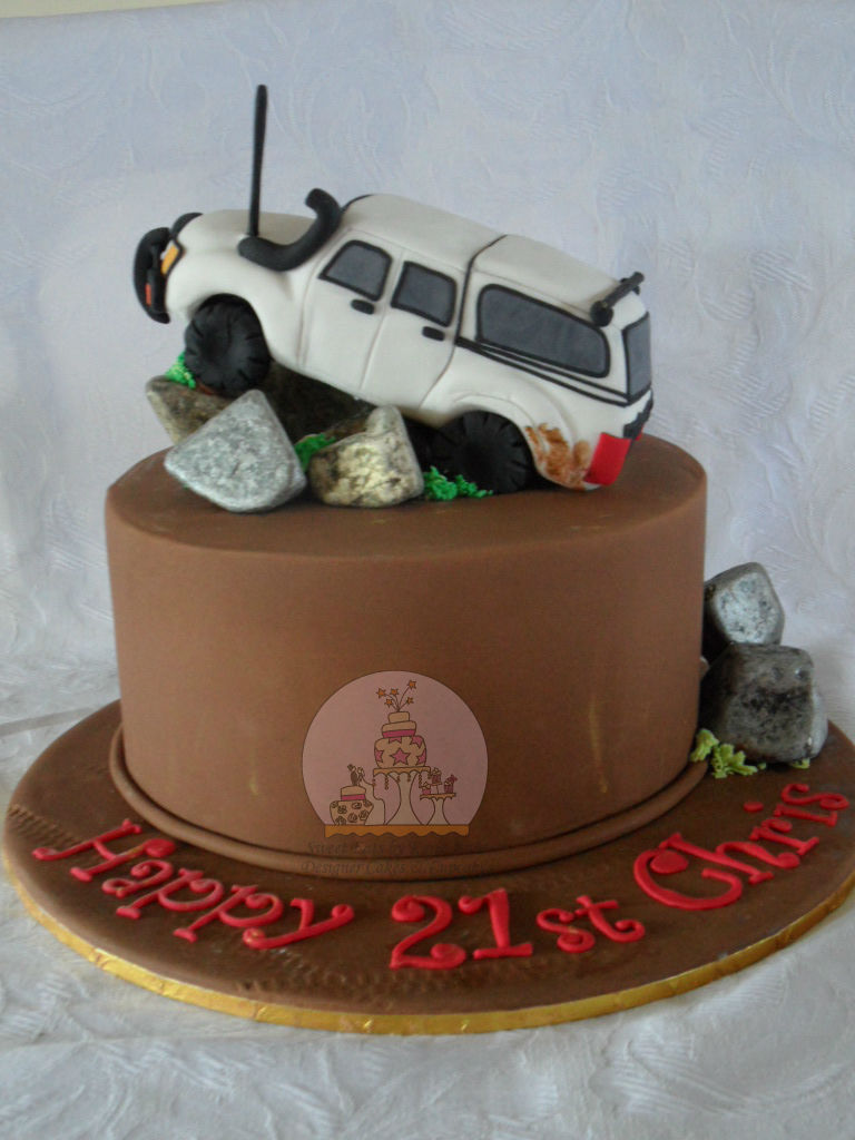 Toyota Hilux 4WD 21st Cake
