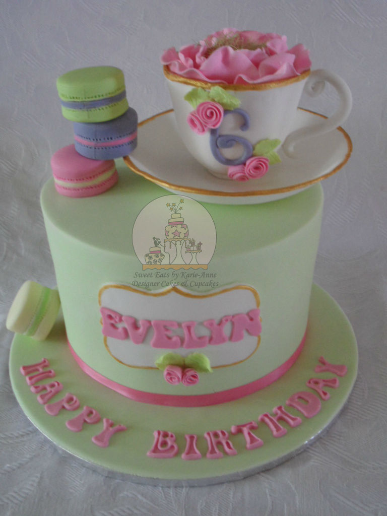 High Tea themed Cake