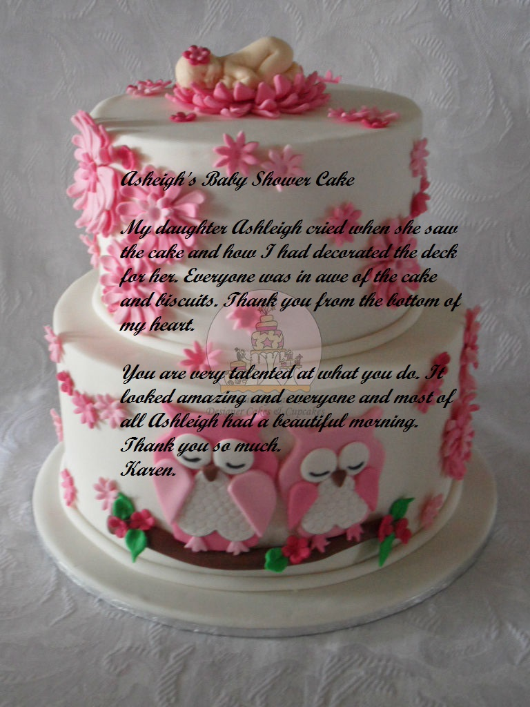 Baby Shower Owl themed Cake - Copy - Copy.JPG