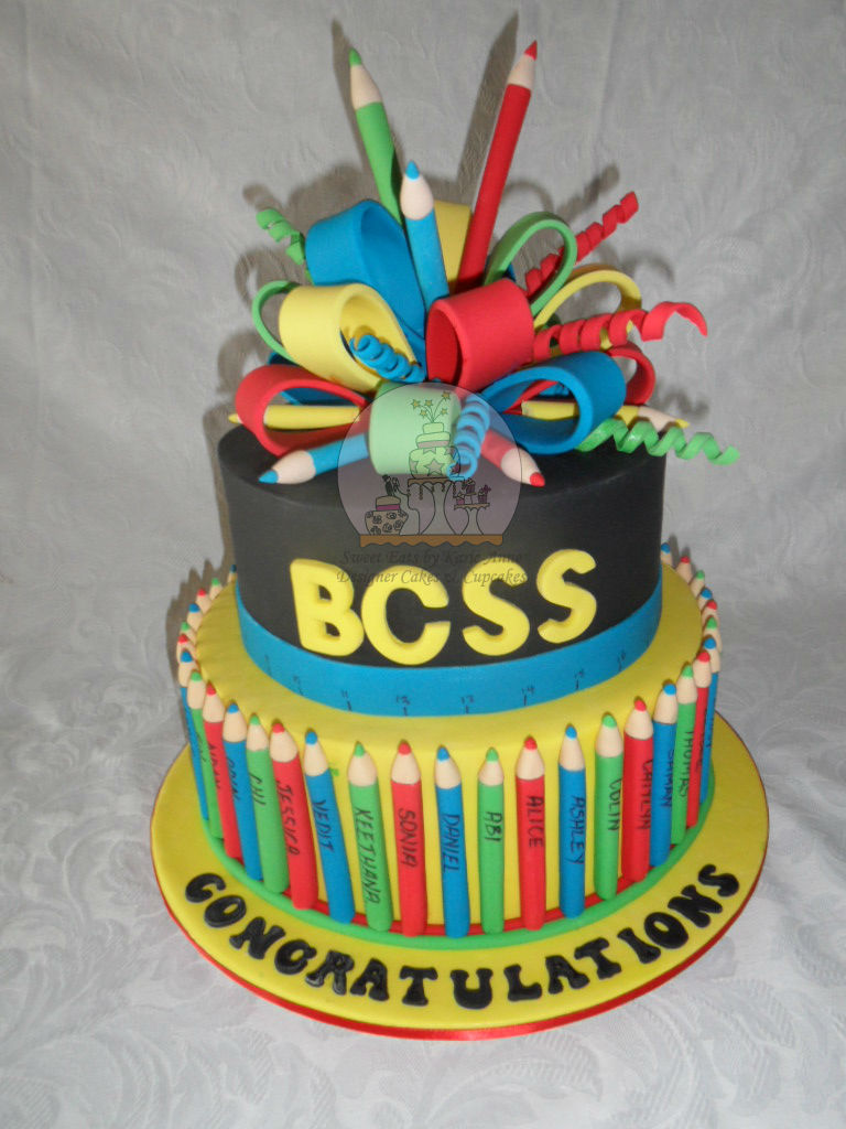 Graduation Cake for Brisbane Central State School