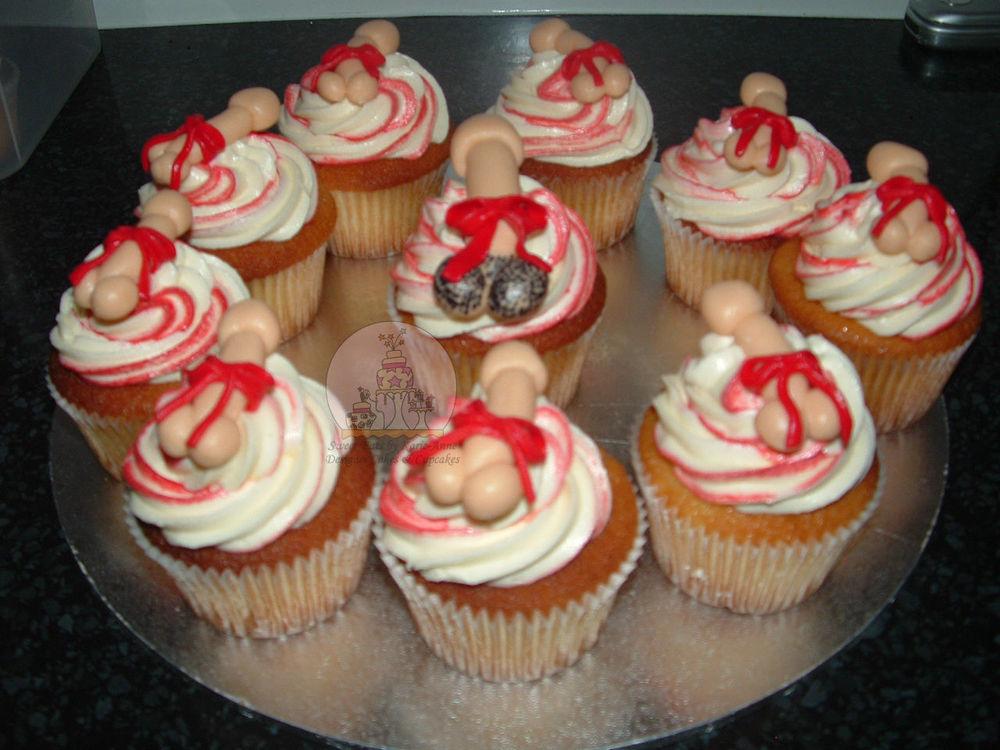 Naughty Penis Cupcakes