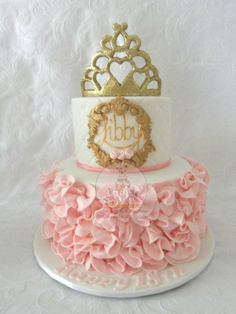18th Princess themed Cake
