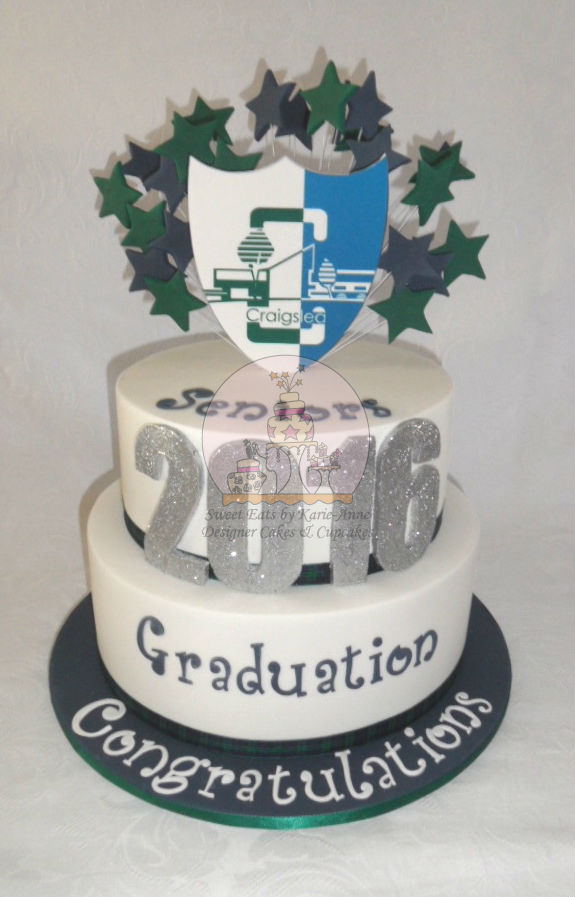 Craigslea SHS Graduation Cake