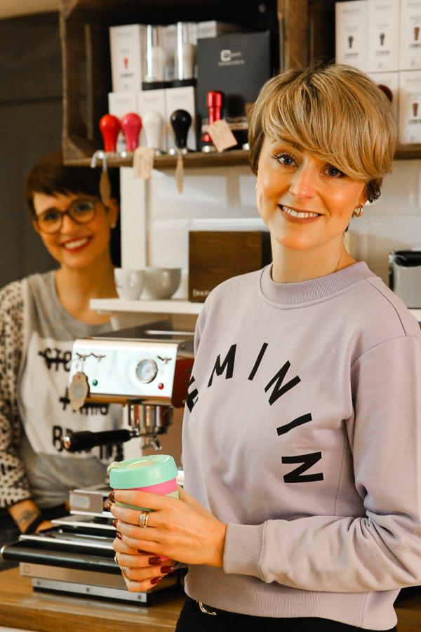 Benvenuto – Café und Rösterei in Hamburg. ©Susanne Baade, SUSIES LOCAL FOOD