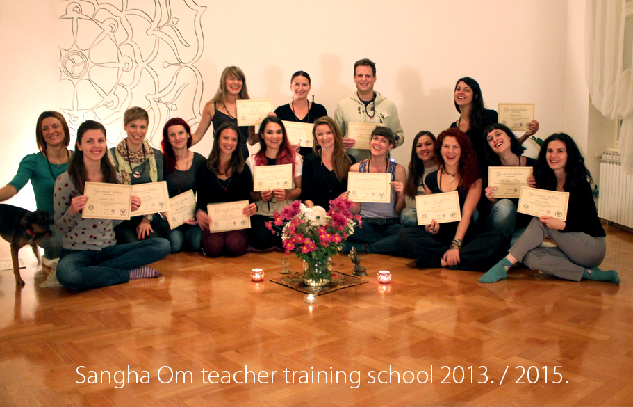 Sangha Om yoga school 2013./2014.