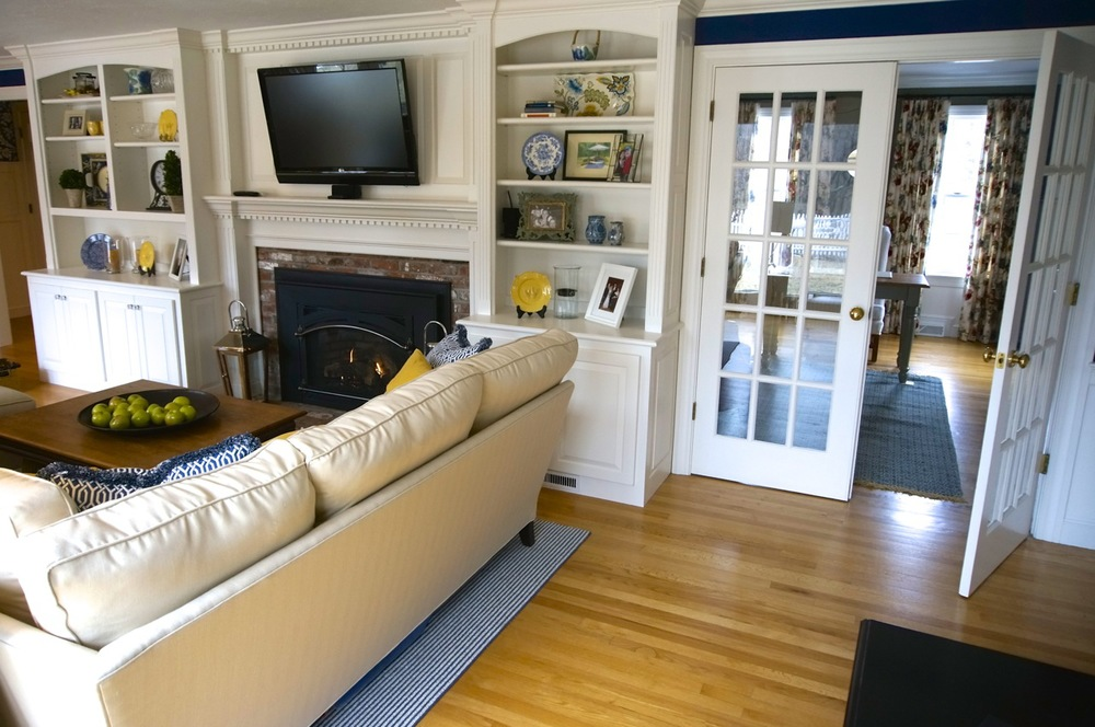 Custom Built Ins Around the Fireplace.jpg