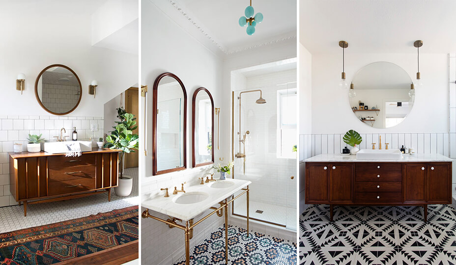 bathroom trends 2019 vintage decor