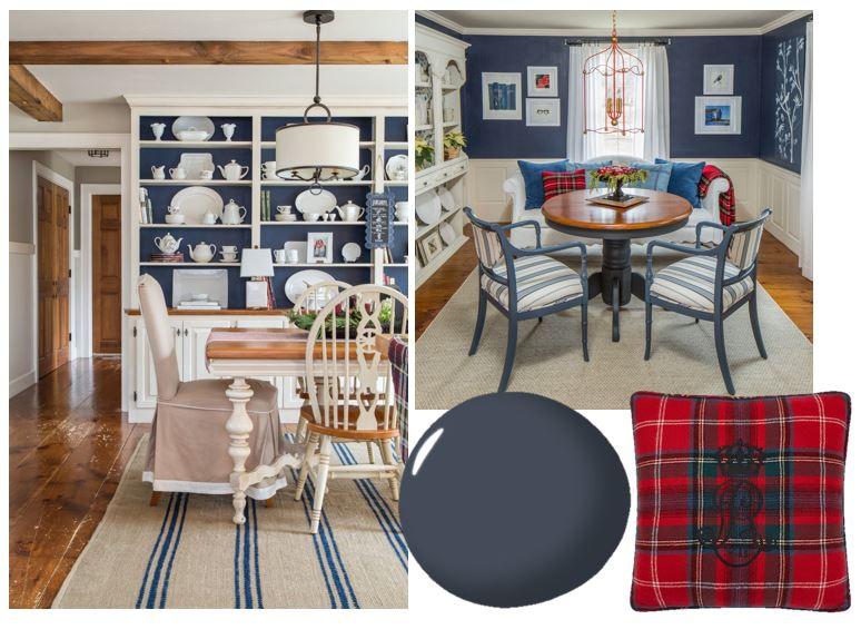 Bee's Knees Interior Design Hale Navy Mood Board