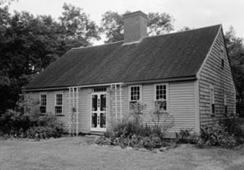 Atwood-Higgins House, one of the earliest and long-standing examples of Cape Cod Architecture. Located in Eastham, MA.