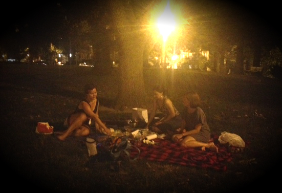 Packing back up a Dinner Party, D.C. style, on Kalorama Hill <3 to Lennon, Holly, Jill, and Hannah