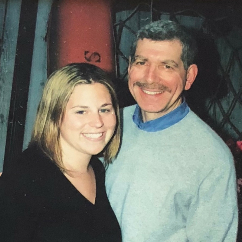 Jodi | Washington, DC   What's your dad's name?  Jeffrey Tirengel   What is Father's Day like for you now?  This is my first one, but I'll be spending it with a fellow dinner partier!   What do you wish people would ask you about your dad?  Dad, what are your hopes for me?
