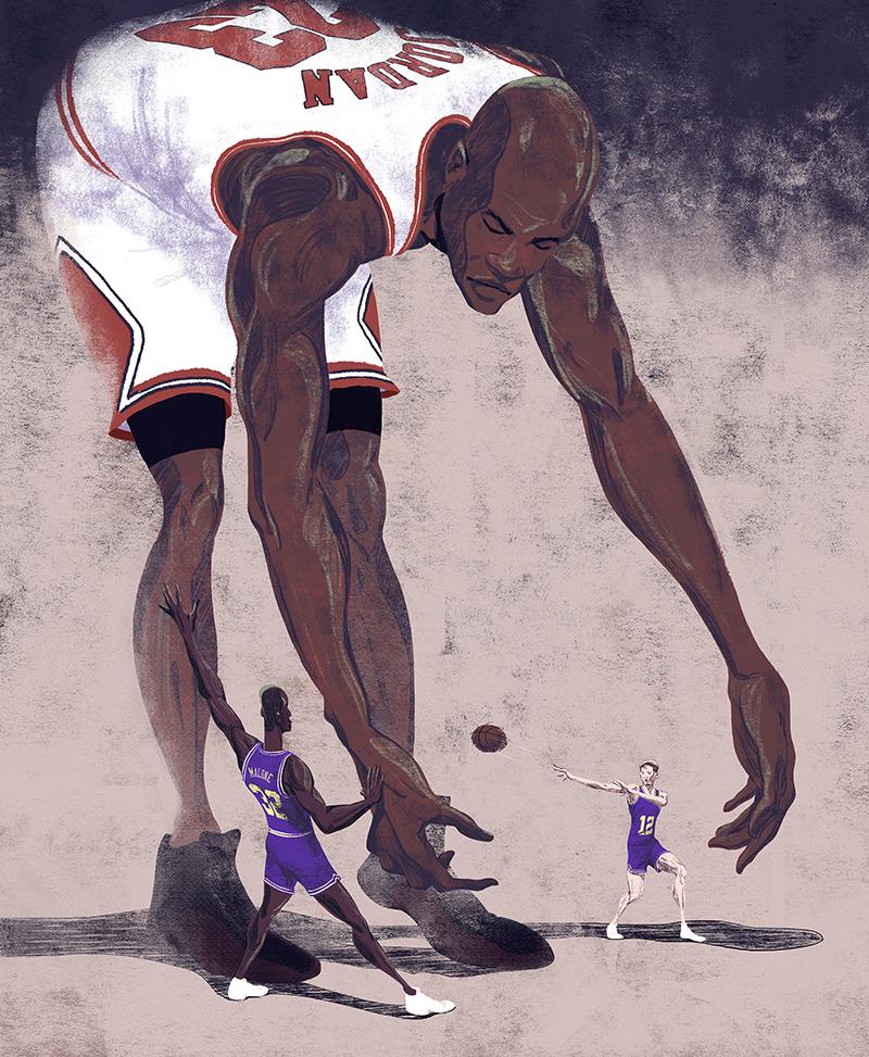 Jordan vs. Stockton & Malone