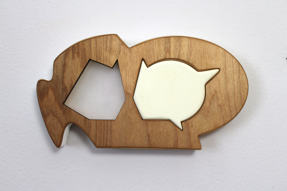 Acrylic, MDF, Birch, and Plexiglass 10 X 5 Inches