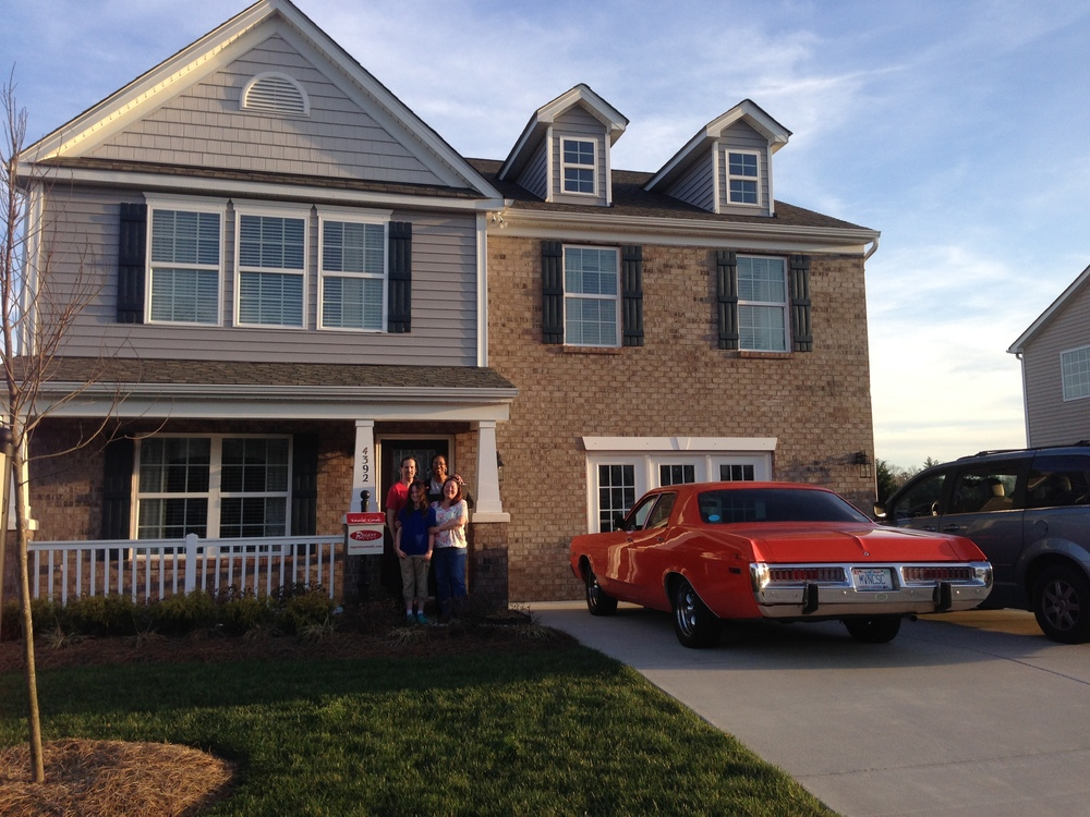 HOPE4USA Graduate, Stephen B.'s, and his beautiful new home!