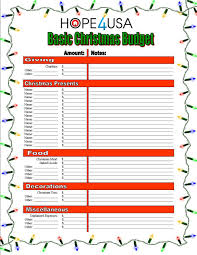 hope4usa.com-free-christmas-budget-worksheet
