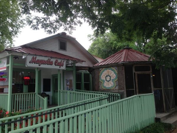 Magnolia Cafe, St. Francisville, Louisiana